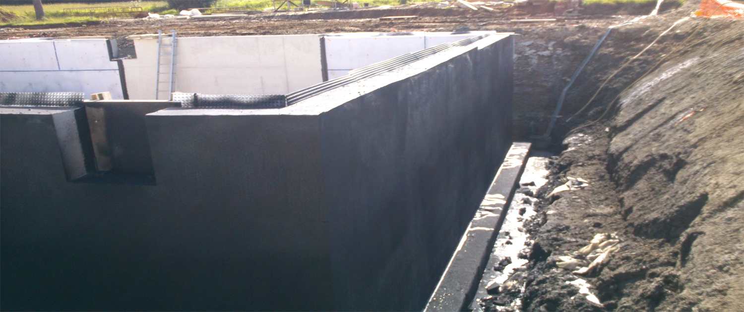 Tanking waterproofing