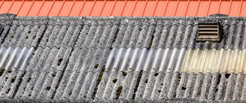 Asbestos roof image