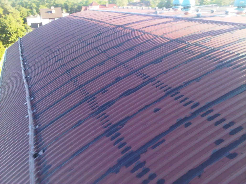 Corrugated Metal Roof Repairs