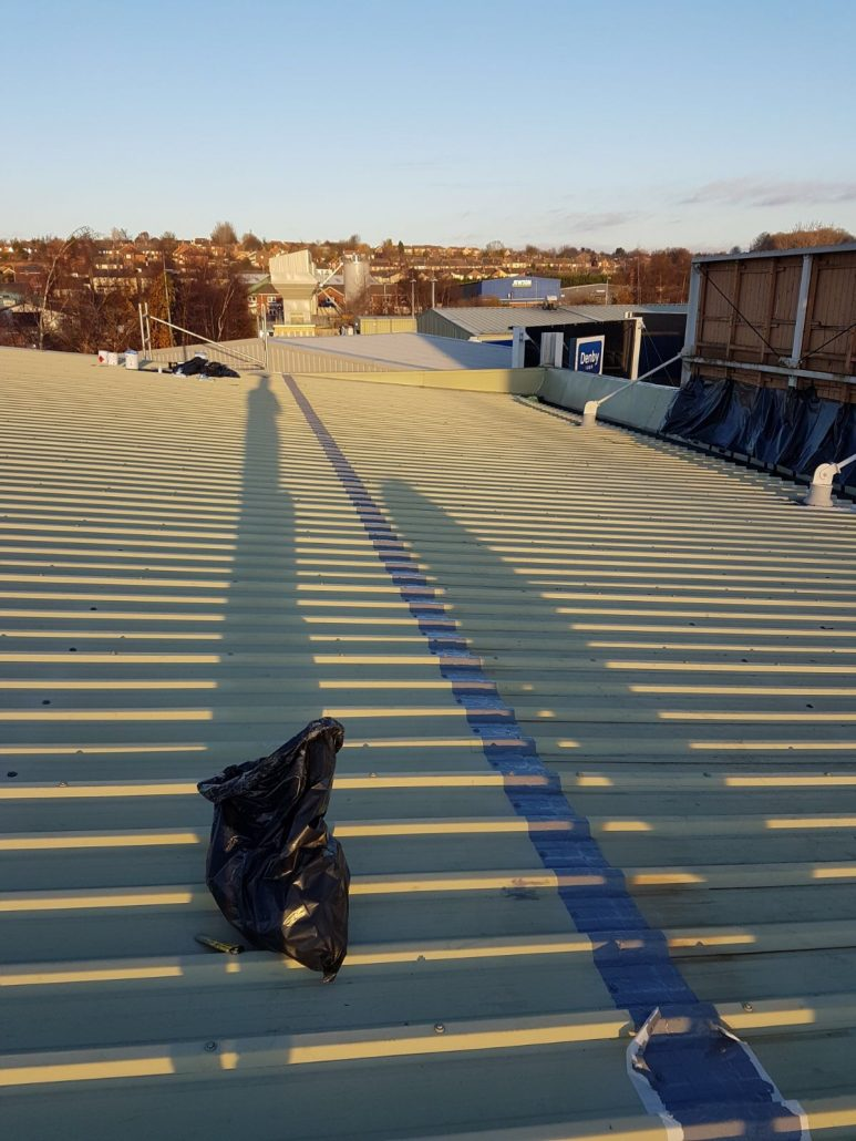 Cut Edge Corrosion Waterproofing For Metal Roofs